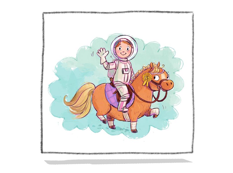 Ein Pony will hoch hinaus