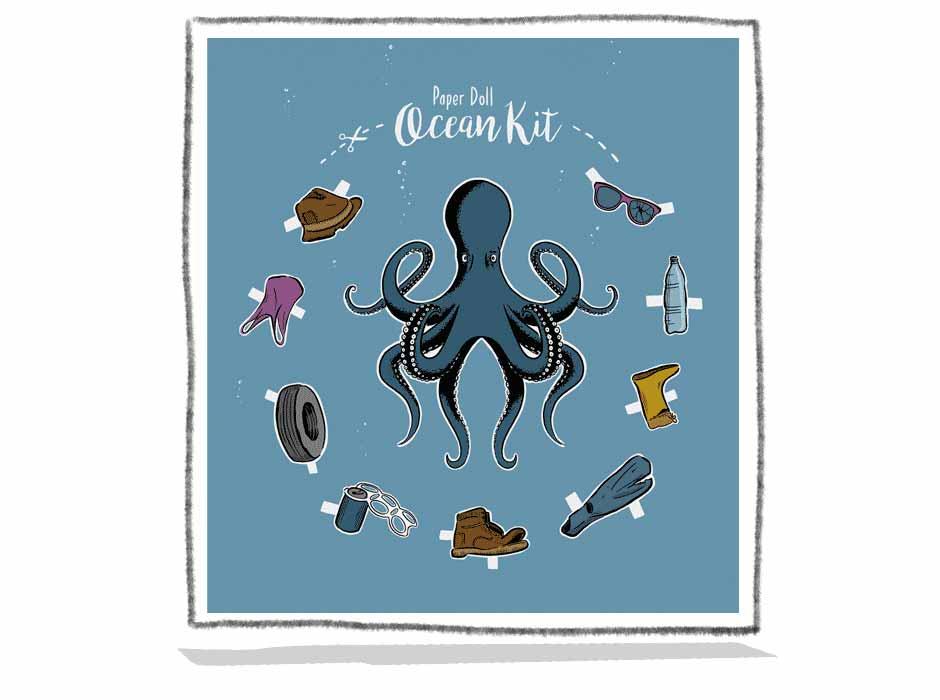 Paper Doll –Ocean Kit