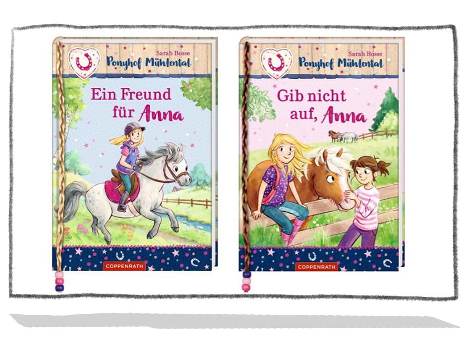 Ponyhof Mühlental - Gib nicht auf, Anna / Ein Freund für Anna